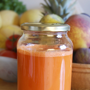 Carrot-ginger juice