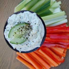 Raw Vegan Tzatziki
